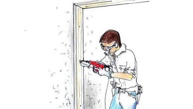 Montaggio di una porta interna: tecniche illustrate per il fai da te