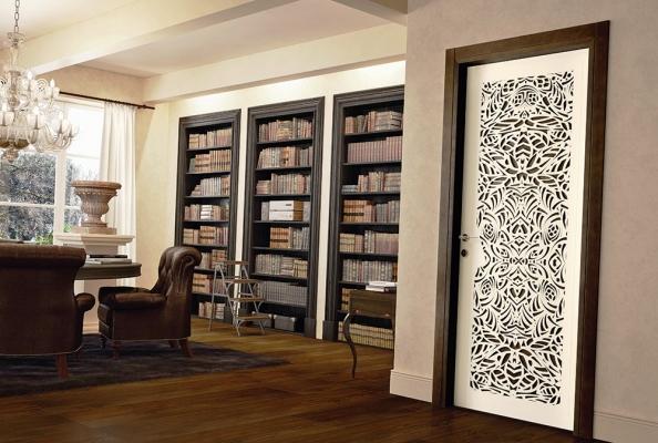 Porta di design moderno, creazione Santoro
