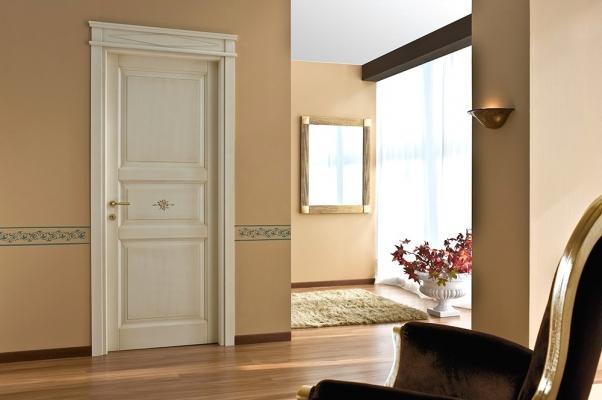 Porta legno massello modello Mantova, by Santoro