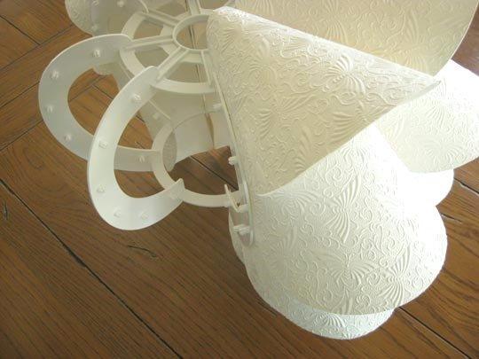 Assemblaggio lampada Knappa di Ikea