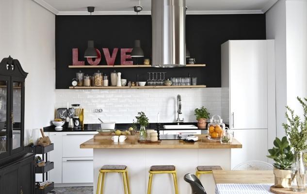 Open space Ikea: cucina con isola