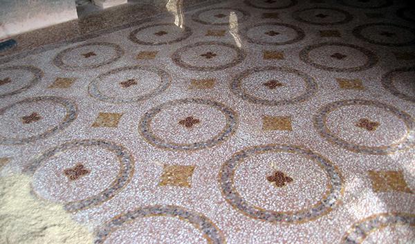 Pavimento alla veneziana finito. Dal sito di Asin Erminio.