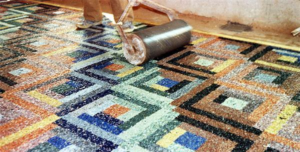 La rullatura del pavimento veneziano, di Terrazzi Veneziani s.r.l.