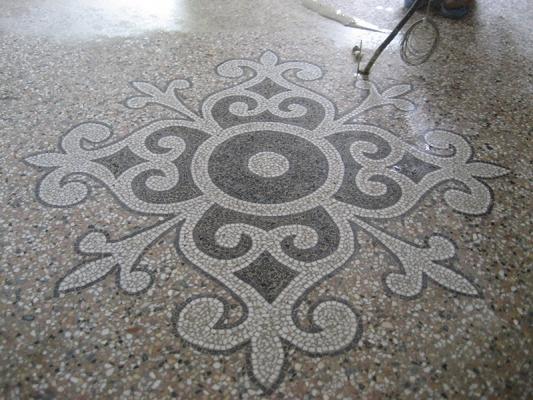Pavimento alla veneziana tradizionale, by Asin Erminio.