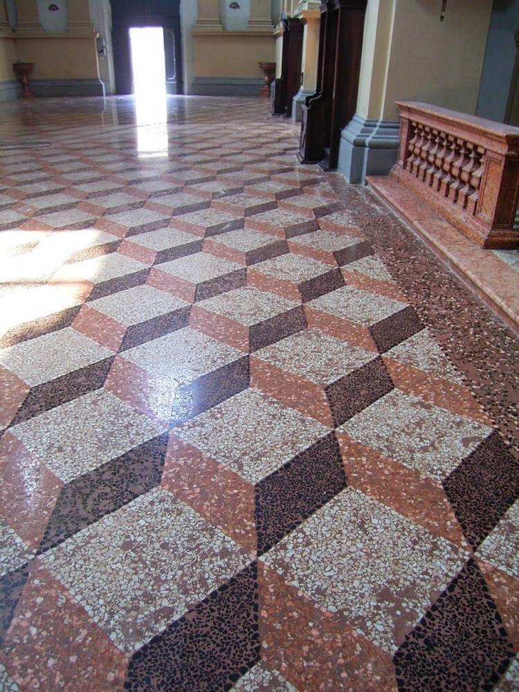 Pavimento alla veneziana dopo il restauro, by Luca Mezzini