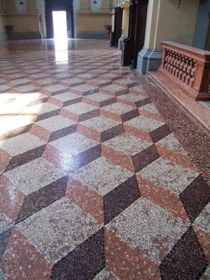 Restaurare un pavimento alla veneziana