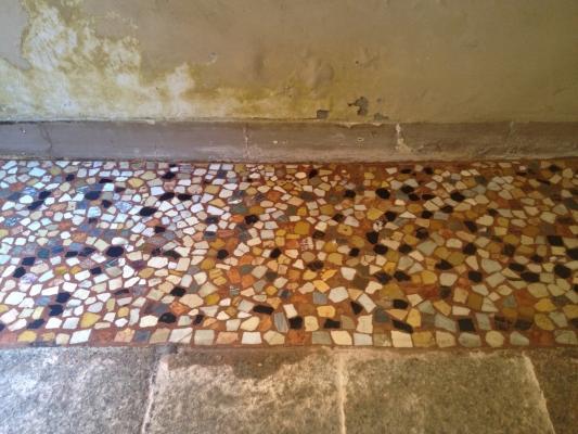 Pavimento alla veneziana dopo il restauro, azienda Luca Mezzini
