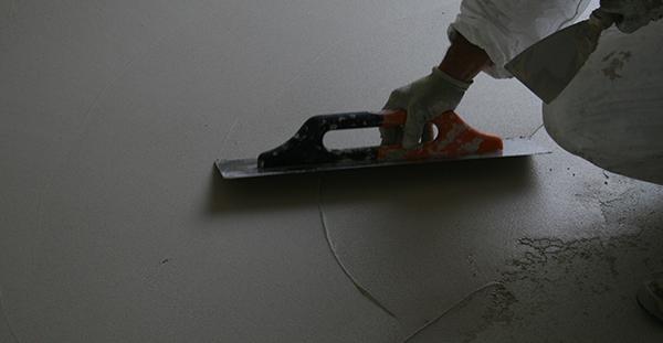 Battuto di cocciopesto: strato di finitura, foto Di.Co Bioedilizia.