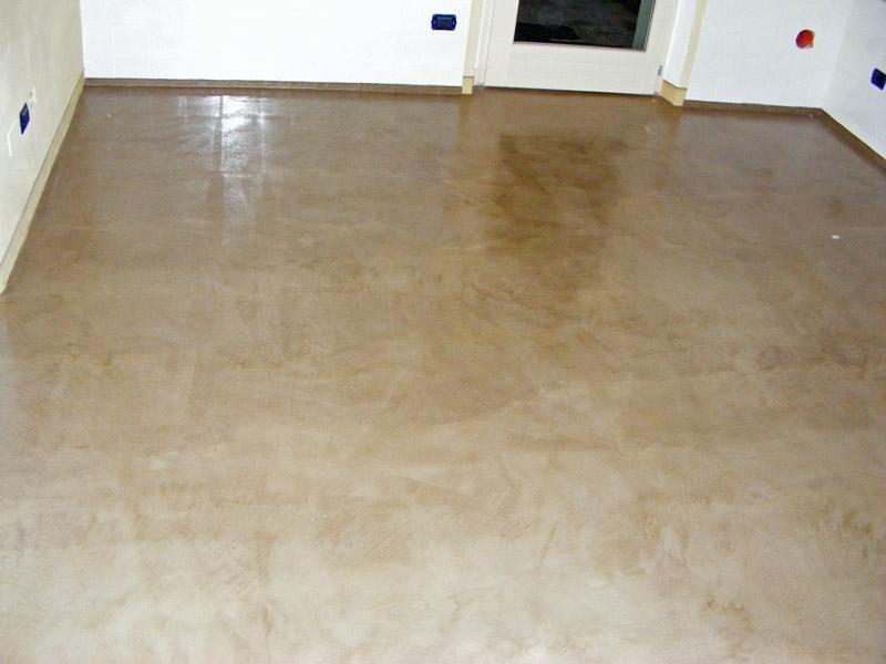 Pavimento in battuto di cocciopesto con tracce di lavorazione evidenti, by Fratelli Dianti