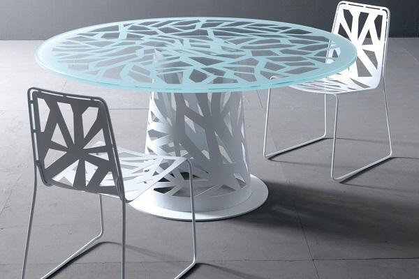 Sedie monoscocca Domino di Esedra Collection