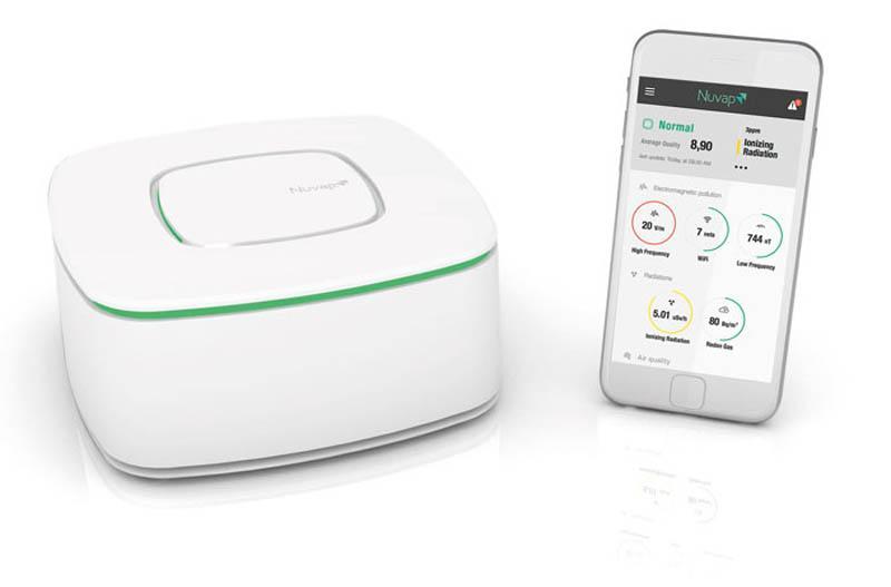 Inquinamento aria: dispositivo monitoraggio Nuvap