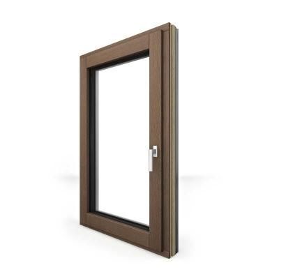 Internorm - la nuova finestra in legno-alluminio hf410 con tecnologia i-tec core del nucleo
