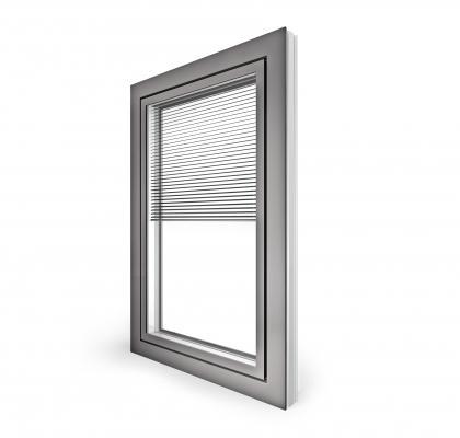 Internorm - kv350 doppia finestra in pvc alluminio