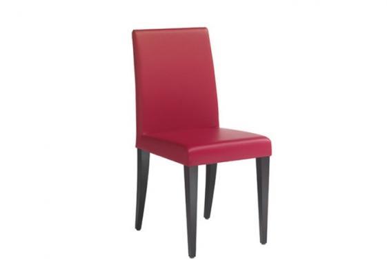 Sedia legno e cuoio LISA- Artleather