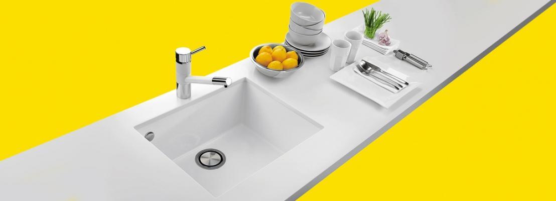 Più igine in cucina con il lavello antibatterico di Plados -Telma