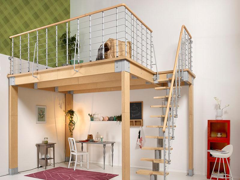 Scale per interni for Costruire una scala in legno per soppalco