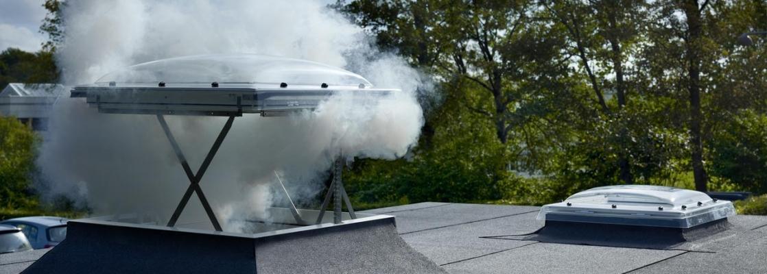 Finstra per tetti VELUX evacuazione fumi