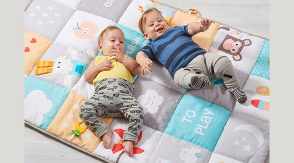 Tappeto sensoriale I Love Big Mats di Taf Toys