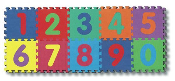 Tappeto puzzle con numeri estraibili di Borgione
