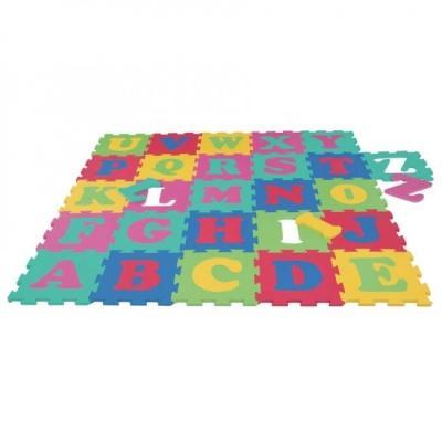 Tappeto puzzle con lettere estraibili di Borgione.