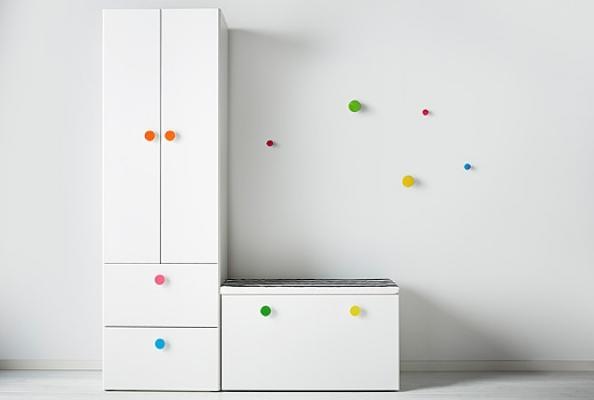 Guardaroba componibile per bambini Stuva di Ikea