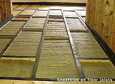 Isolamento acustico pavimento con pavimento galleggiante di Mas Acoustics
