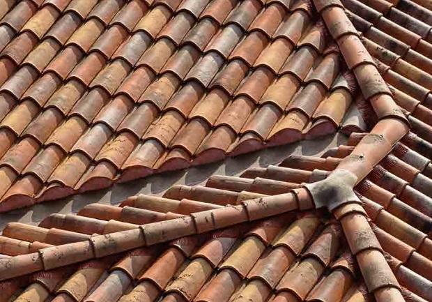 Coppi per tetti di Braas di Monier