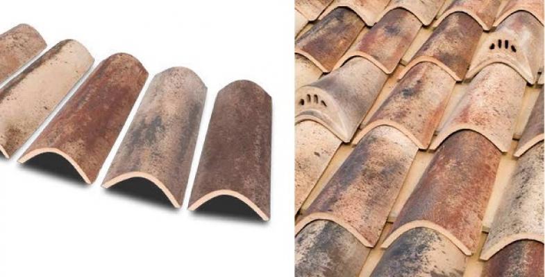 Coppi per tetto di Tegolaia