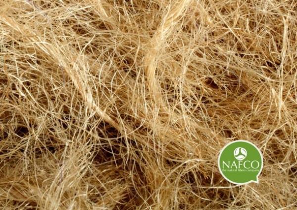 Nafco: fibre di kenaf lavorate