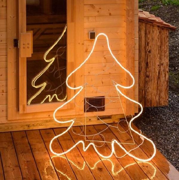 Albero decorativo natalizio di Luminal Park