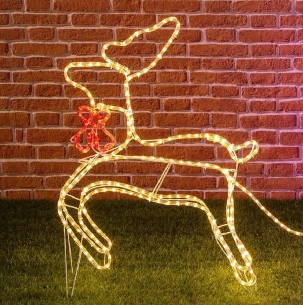 Renne di Natale luminose, Luminal Park