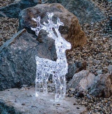 Decoro da giardino a forma di renna, Luminal Park