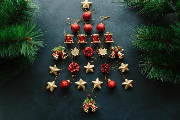 Decorazioni In Legno Per Albero Di Natale : Realizzare un albero di natale fai da te