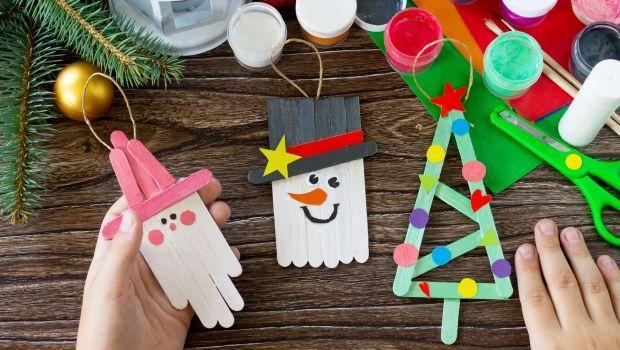 Lavoretti Di Cartoncino Per Natale.Lavoretti Di Natale Per Bambini