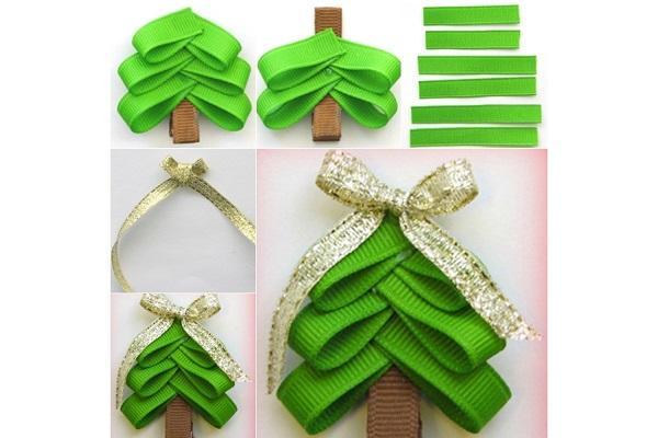 Lavoretti di Natale: chiudi pacco ad alberello