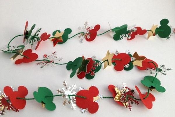 Festone fai da te per Natale da Pinterest