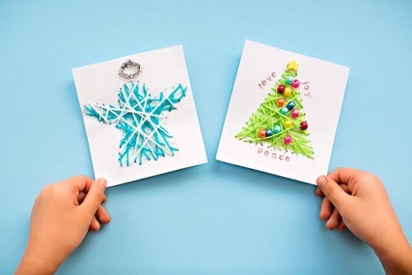 Lavoretti Di Natale Veloci E Facili.Lavoretti Di Natale Per Bambini