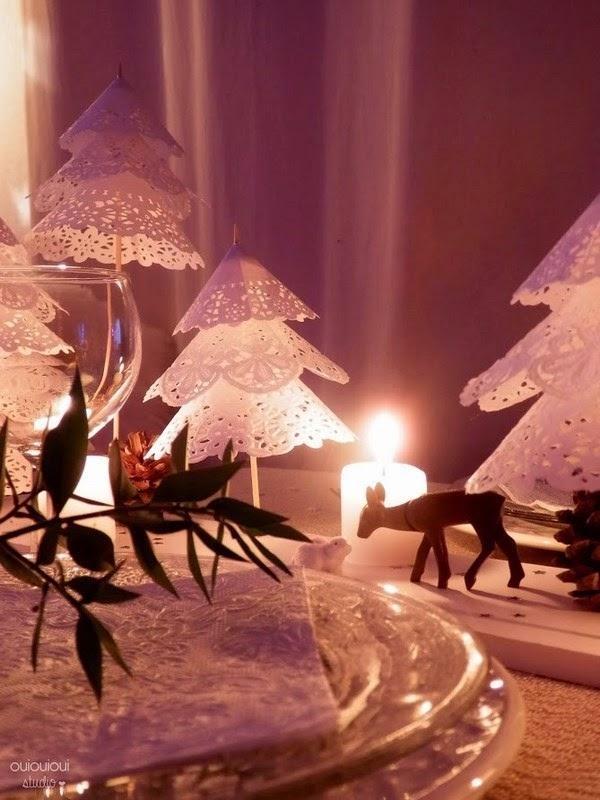 Origami natalizi, da ouiouiouistudio.blogspot.it/