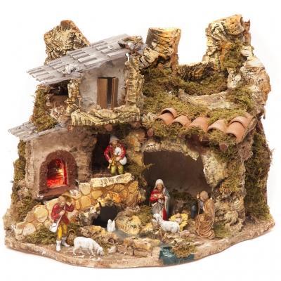 Capanna del borgo per presepe by HolyArt