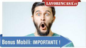 alt Bonus mobili: la risposta alle domande più frequenti