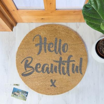 Regali per la casa a Natale: zerbino di design Artsy Doormats
