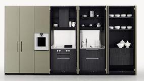 Cucine a scomparsa dal design moderno