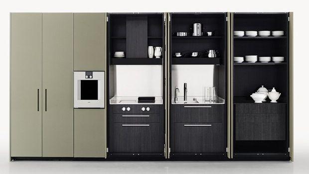 Cucine Moderne A Scomparsa.Cucine A Scomparsa Dal Design Moderno