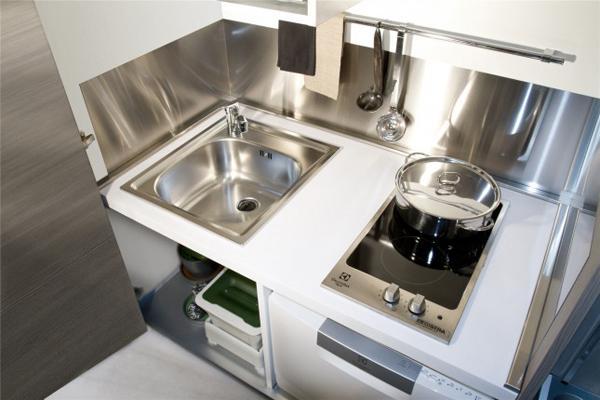 Cucina a scomparsa MiniSystem- Snaidero