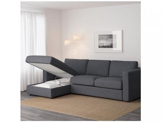 Divano Ikea Vimle aperto
