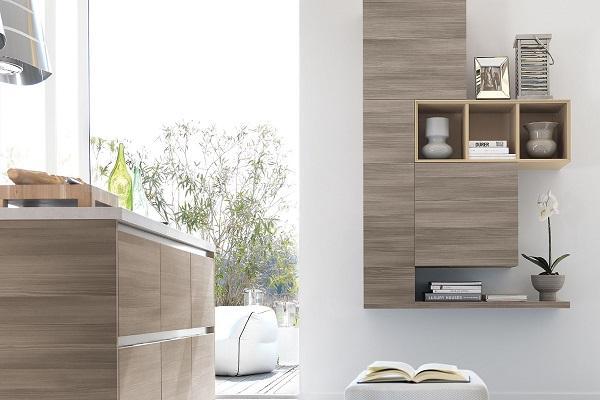 Cucina moderna in legno Essenza di Lube