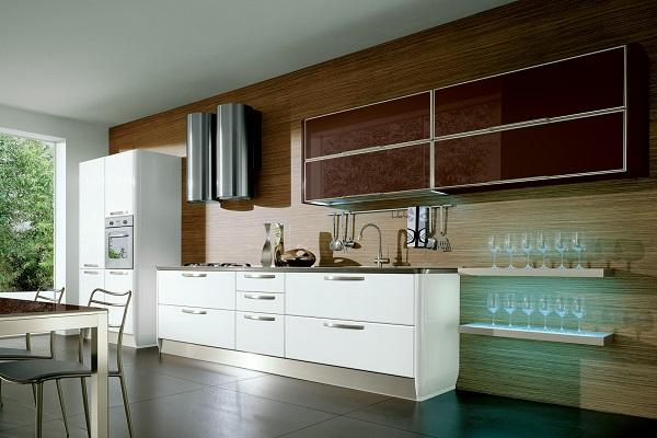 Beautiful cucine moderna in legno katia di lube with for Fava arreda