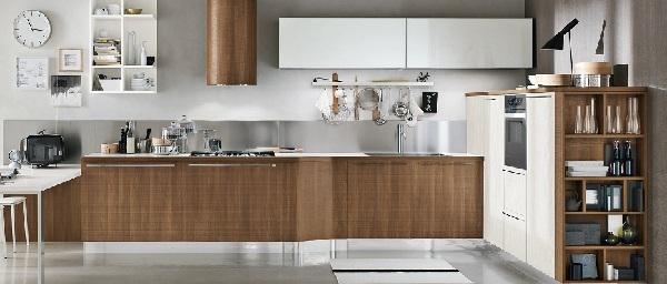 Cucina moderna in legno Milly di Stosa