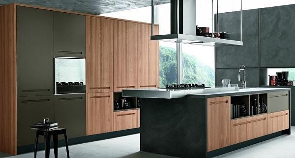 Cucina in legno Mood di Stosa