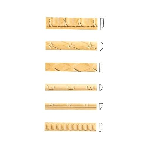 Listelli decorativi in legno per pareti - Listelli decorativi per bagno ...